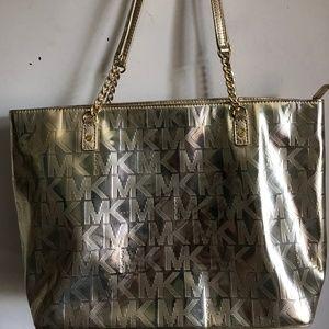 MICHAEL Michael Kors Gold Shoulder Bag